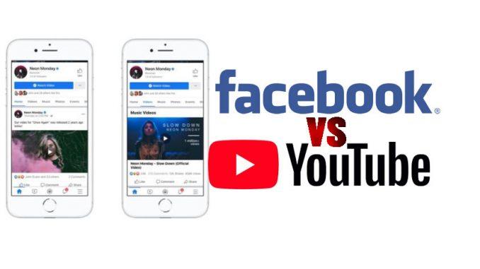 videos musicales en facebook