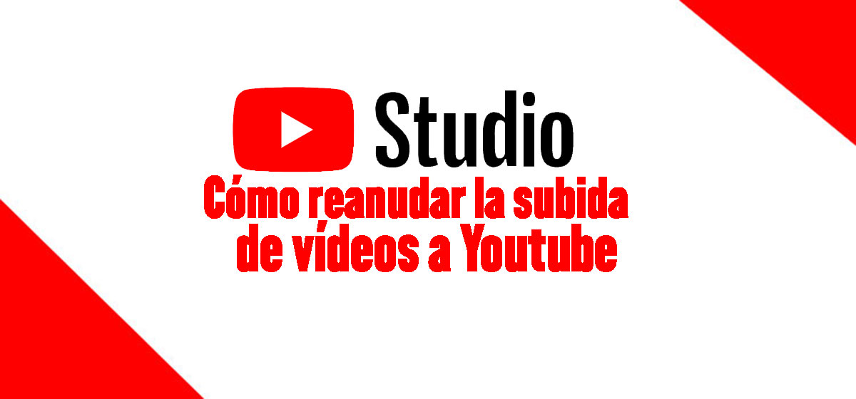 reasnudar subida de vídeos a Youtube
