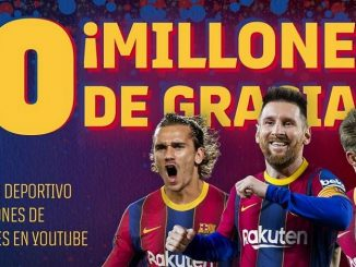 record en youtube del barcelona fc