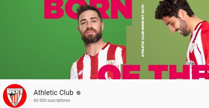 el canal del Athletic club de Bilbao