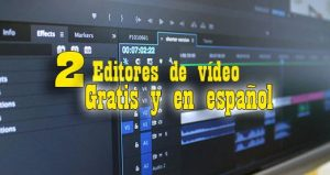 editores de video gratis