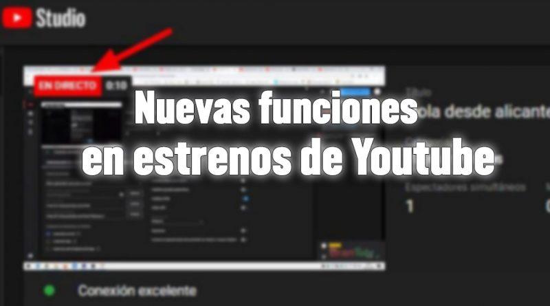 live redirect trailer y contador youtube