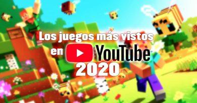 los juegos más vistos en youtube en 2020