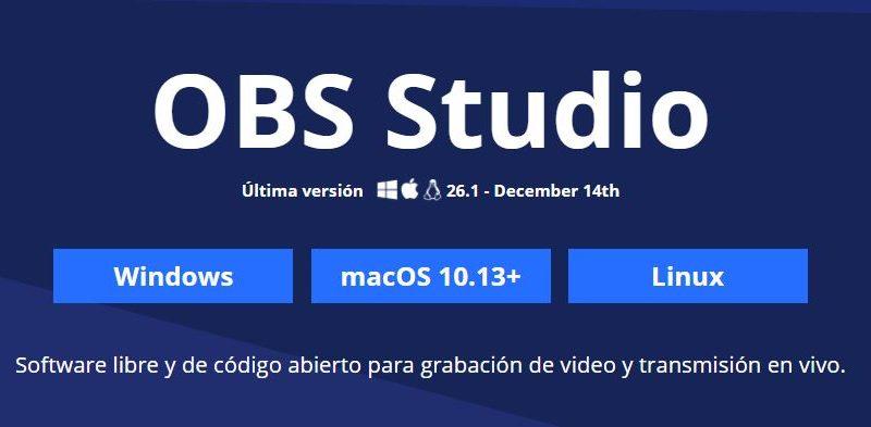 obs studio 26-1