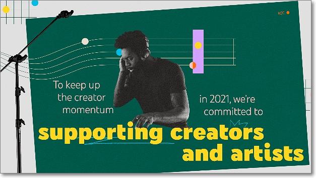 Apoyando a creadores y artistas