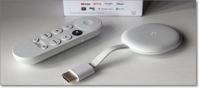 Dispositivos Chromecast Google TV
