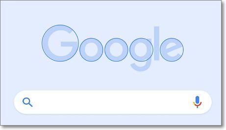 Logo de Google redondeado