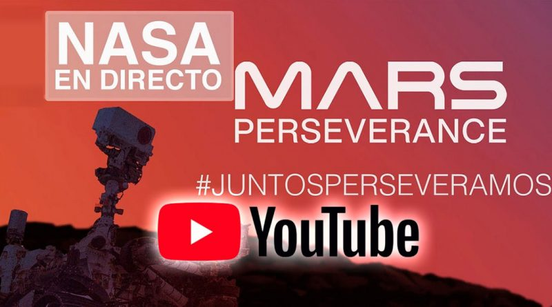 NASAdirecto aterrizaje marte español