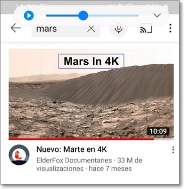 Vídeo en 4K en Android