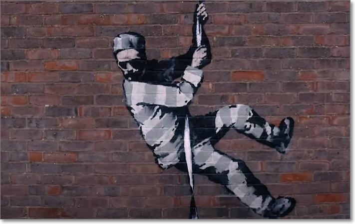 Create Escape (Banksy 2021)