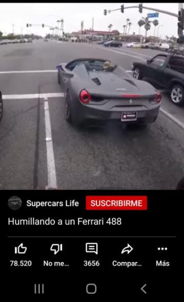 Vídeo corto de Youtube